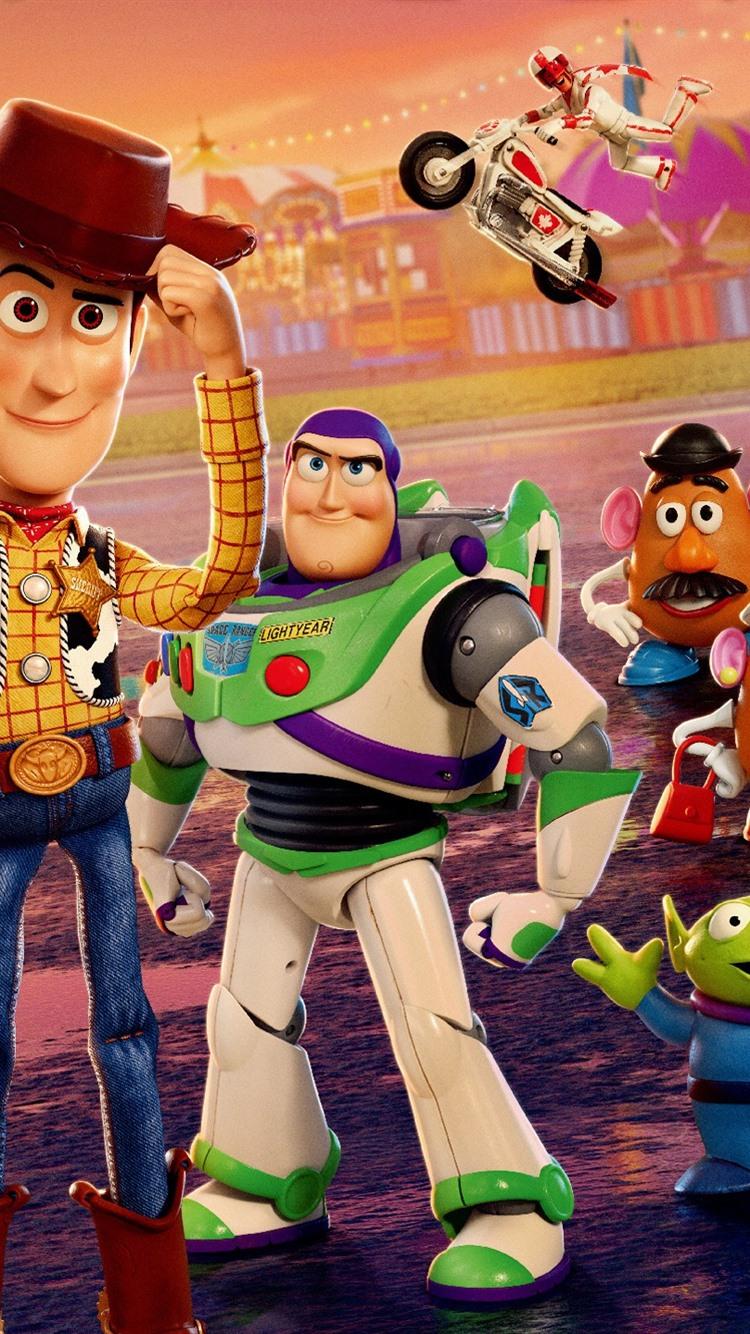 Toy Story 4 Zeichentrickfilm 2019 2560x1440 Qhd