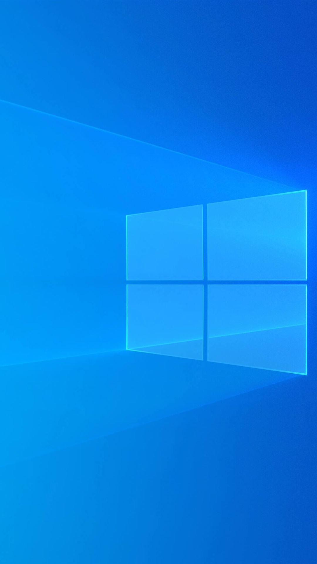 Windows 10 青色の背景 光 抽象的なデザイン 1080x19 Iphone 8 7 6 6s Plus 壁紙 背景 画像