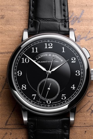 iPhone Wallpaper Black style watch