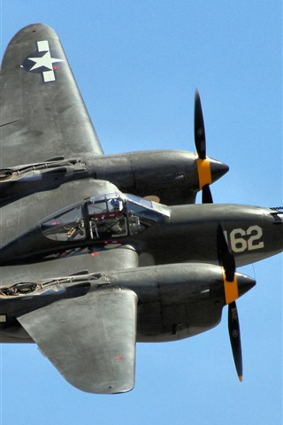 iPhone Wallpaper P-38 fighter