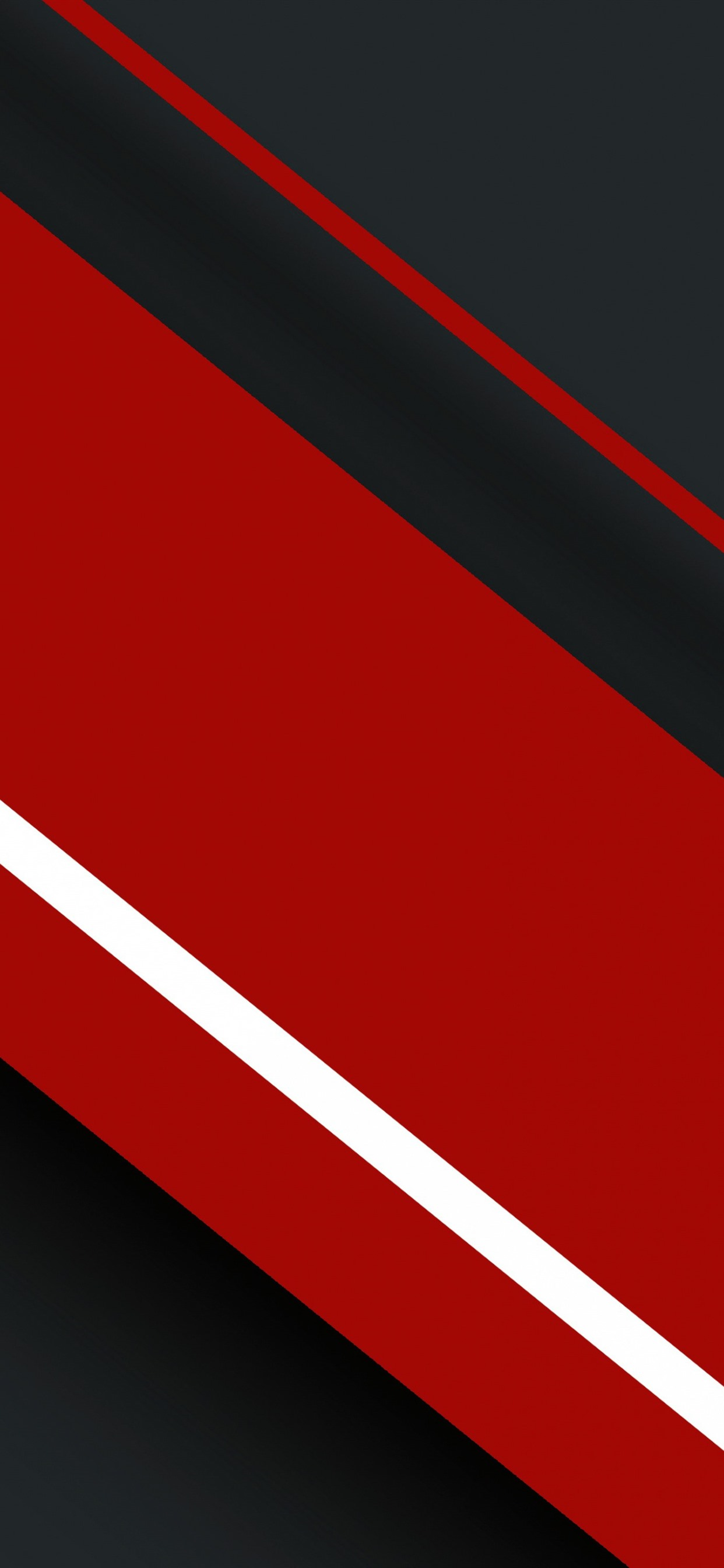 Red And Black Stripes Abstract Picture 1242x2688 Iphone Xs