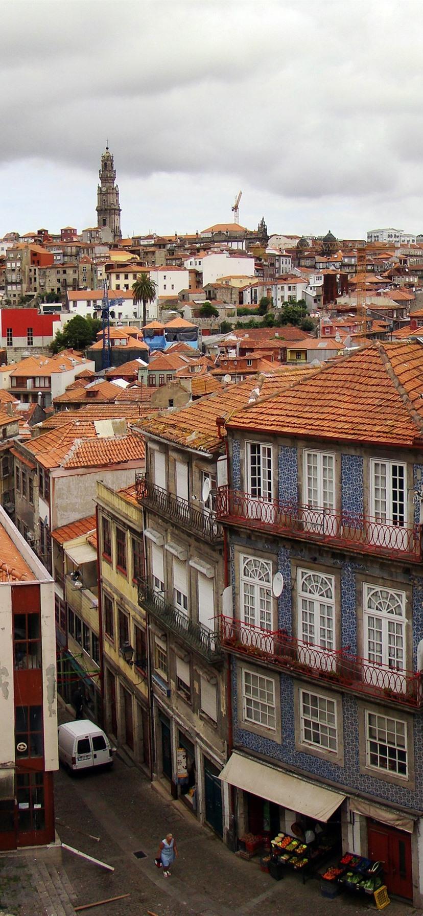 Обои Португалия, старый город, порто. Города foto 9
