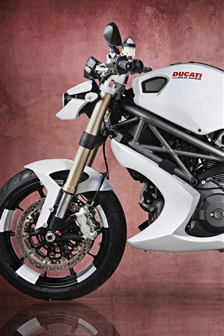 iPhone Wallpaper Ducati Monster 1100 EVO motorcycle