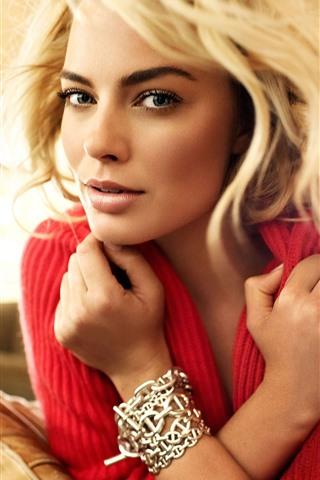 iPhone Wallpaper Margot Robbie 08