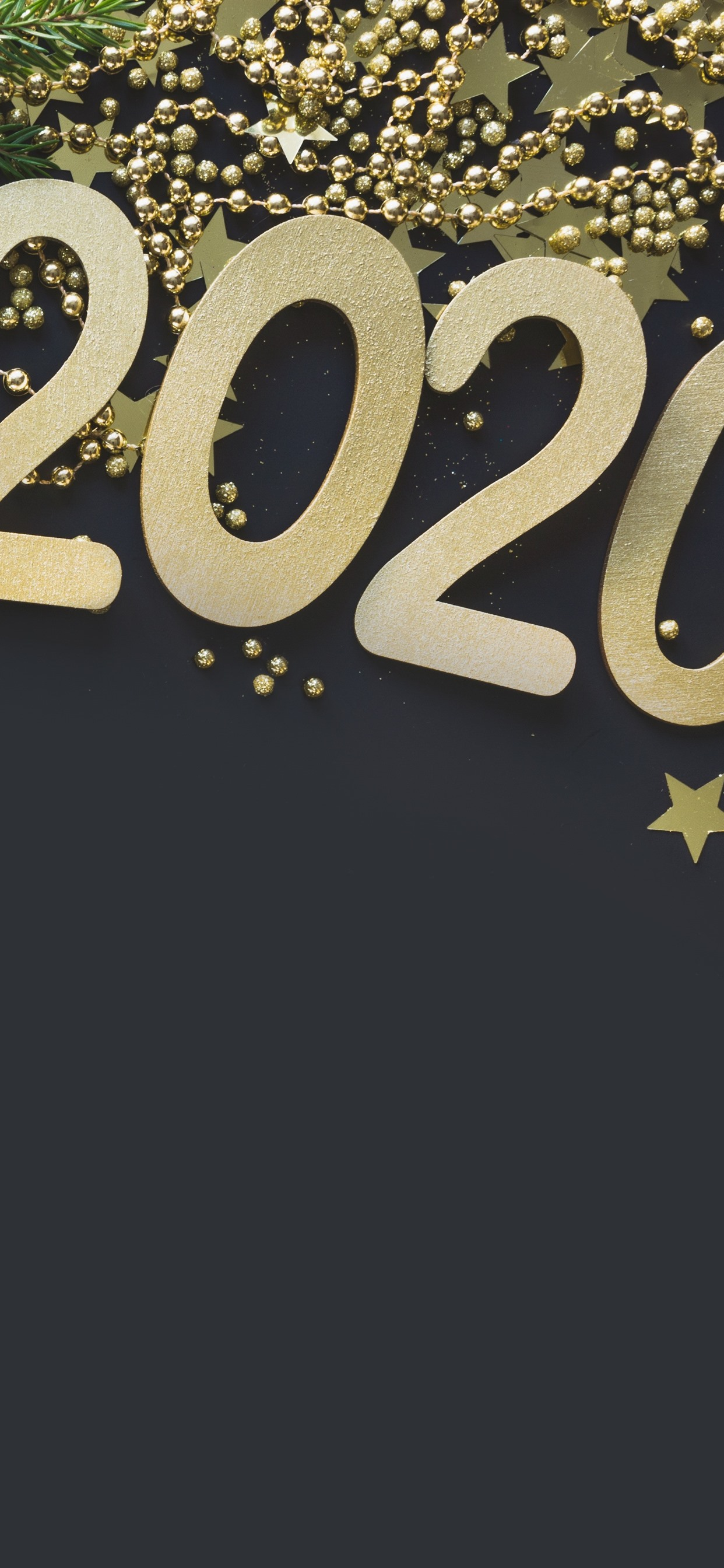 New Year 2020 Golden Style Gift Stars Jewels 1242x2688 Iphone 11 Pro Xs Max Wallpaper Background Picture Image