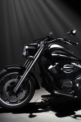 iPhone Wallpaper Yamaha XVS950A Midnight Star motorcycle