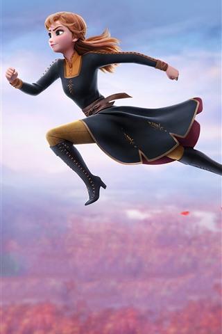 Brave Anna, Frozen 2 1080x1920 iPhone 8/7/6/6S Plus
