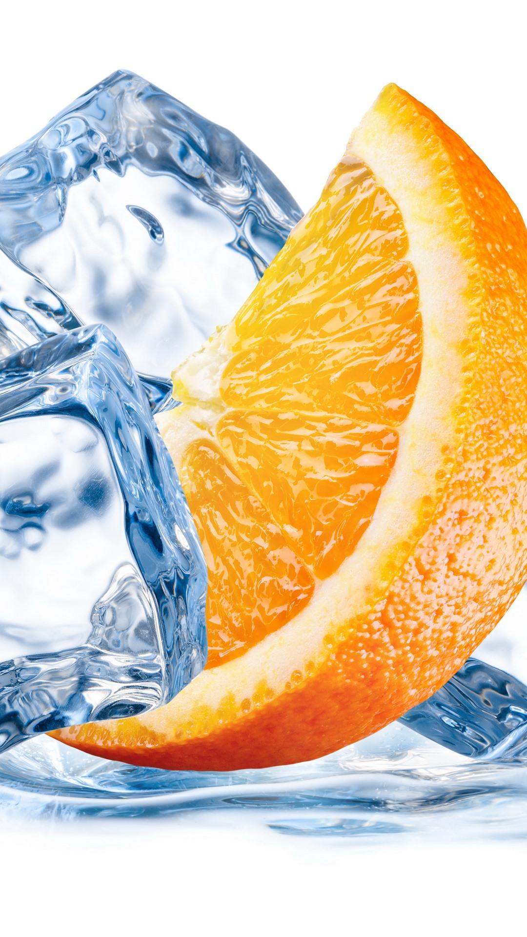 отмечают, что апельсин и лед мир фотообоев сделать
