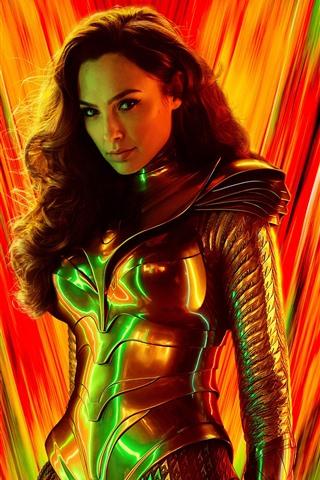 iPhone Hintergrundbilder Gal Gadot, Wonder Woman 1984