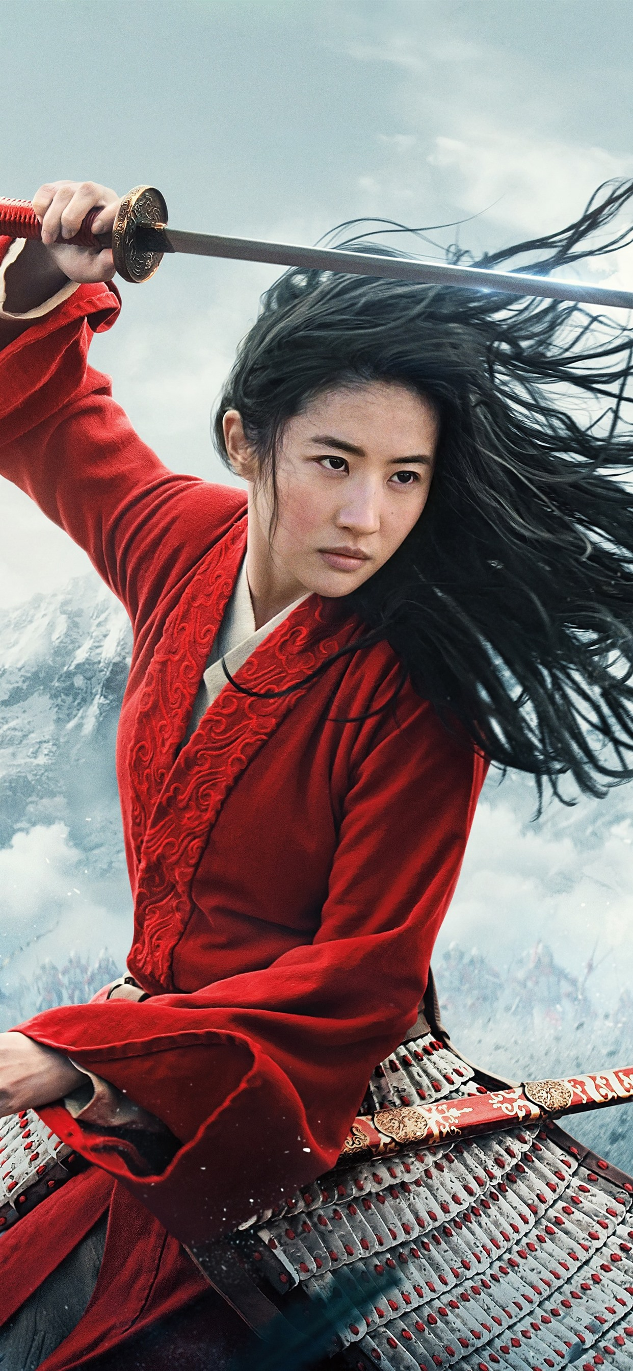 Mulan 2020 Movie 1242x2688 Iphone 11 Pro Xs Max Wallpaper Background Picture Image