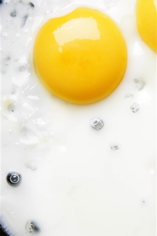 iPhone Wallpaper Fried eggs