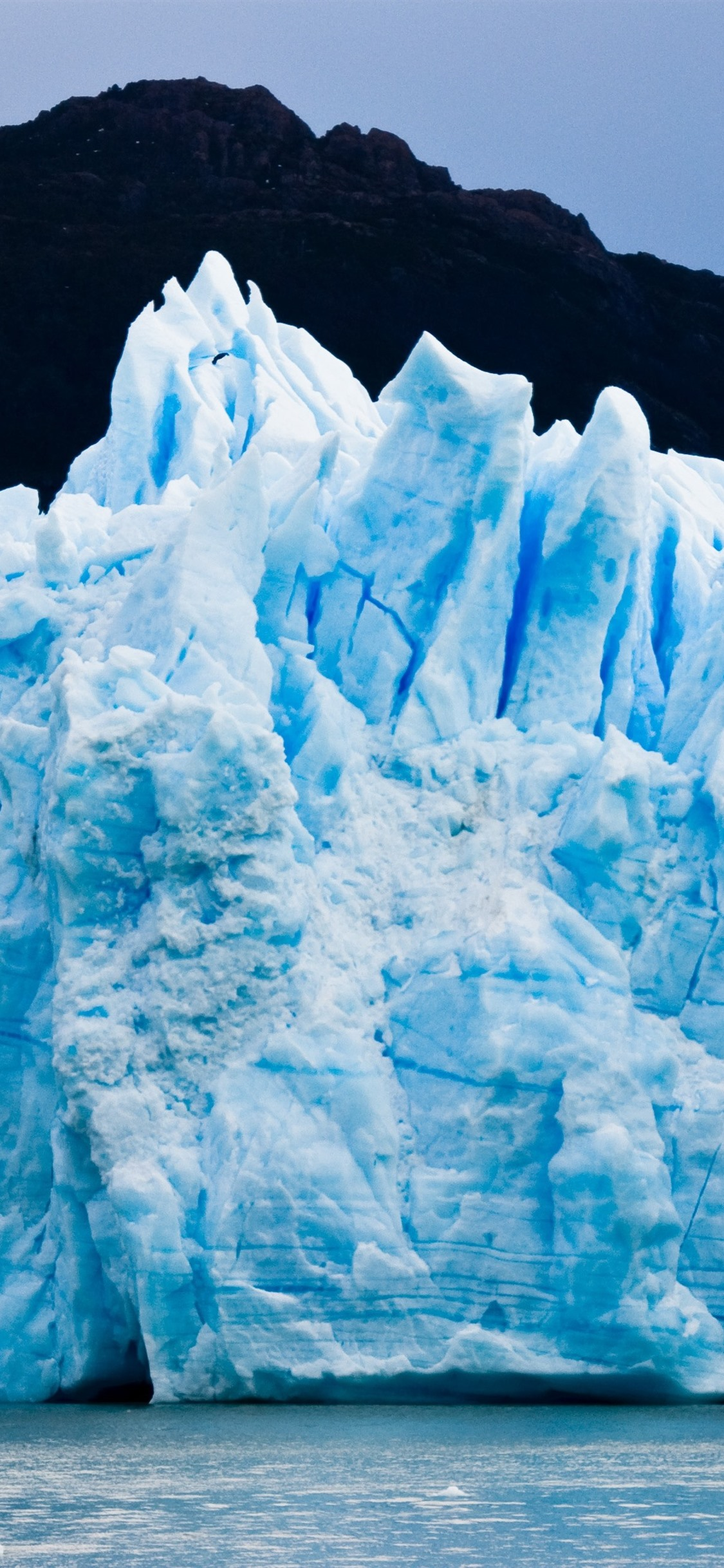 パタゴニア 氷河 氷 青 1125x2436 Iphone 11 Pro Xs X 壁紙 背景 画像