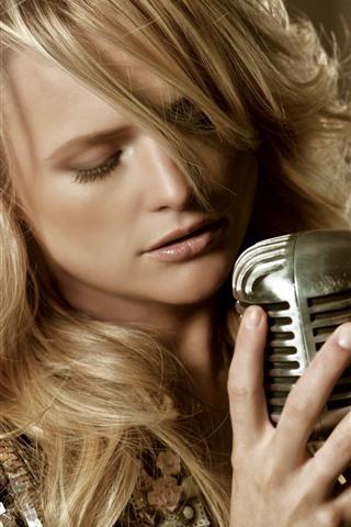 iPhone Papéis de Parede Miranda Lambert 01
