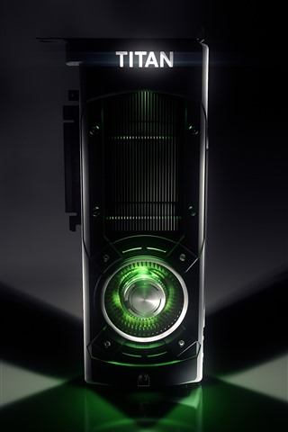 iPhone Papéis de Parede Placa gráfica Nvidia Titan