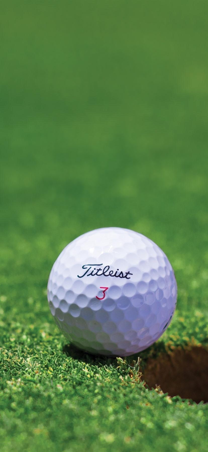 ゴルフ 白いボール 草原 穴 8x1792 Iphone 11 Xr 壁紙 背景 画像