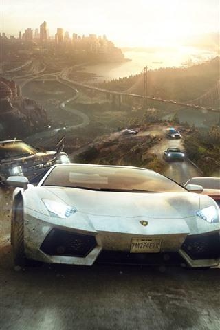 iPhone Papéis de Parede Imagem do jogo, supercarros, corrida