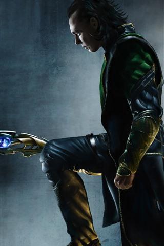 iPhone Papéis de Parede Loki, DC Comics
