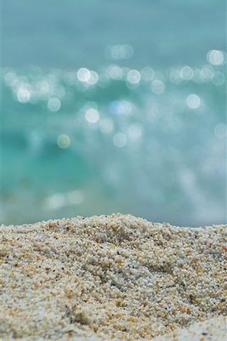 iPhone Wallpaper Sands close-up