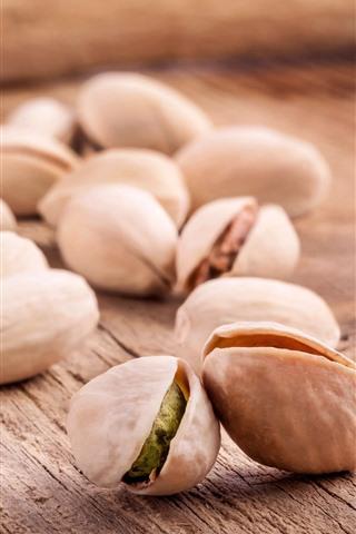 iPhone Wallpaper Pistachio, nuts
