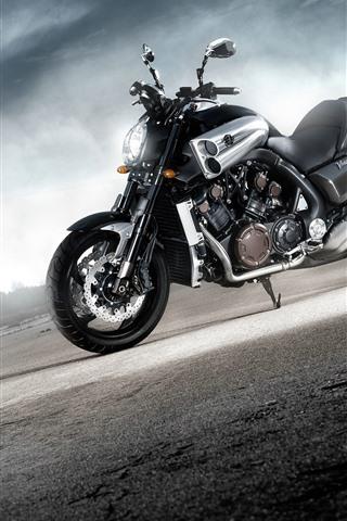 iPhone Wallpaper Yamaha cool motorcycle, sunshine