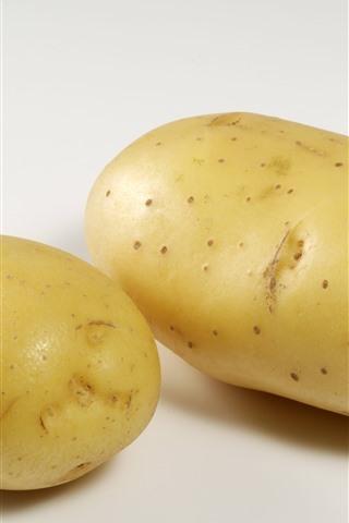 iPhone Papéis de Parede Duas batatas, vegetais