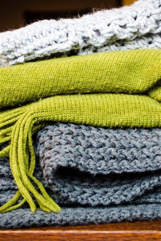 iPhone Papéis de Parede Cachecóis de lã