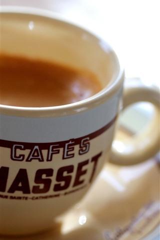 iPhone Fond d'écran Tasse, café, soucoupe