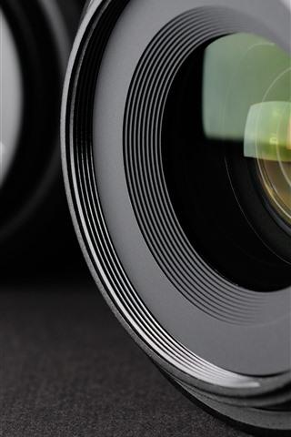 iPhone Wallpaper Lenses macro photography, hazy