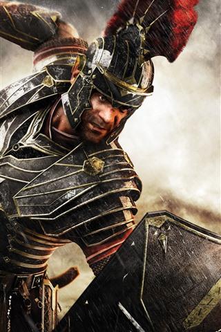 iPhone Wallpaper War, warrior, armor, sword