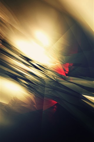 iPhone Wallpaper Abstract light, lines, galre