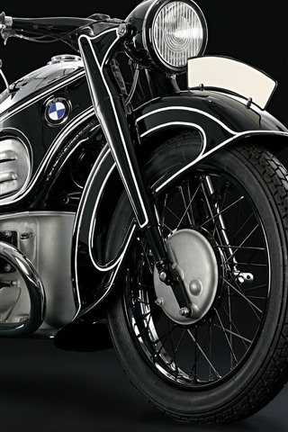 iPhone Wallpaper BMW motorcycle, black background
