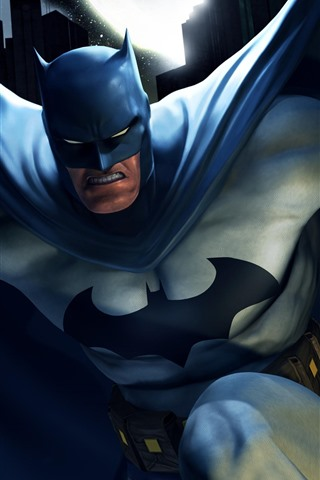 iPhone Papéis de Parede Batman, super-herói, imagem artística, DC Comics