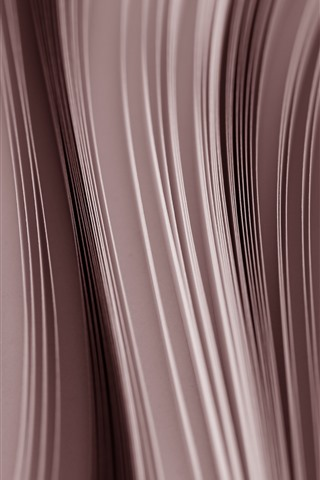 iPhone Wallpaper Paper, side view, curves
