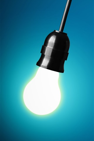 iPhone Papéis de Parede Algumas lâmpadas, uma iluminação
