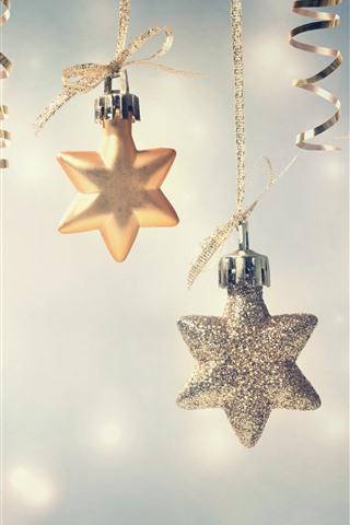 iPhone Hintergrundbilder Sterne Dekoration, Frohe Weihnachten